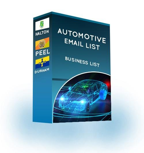 Automotive Industry Email List