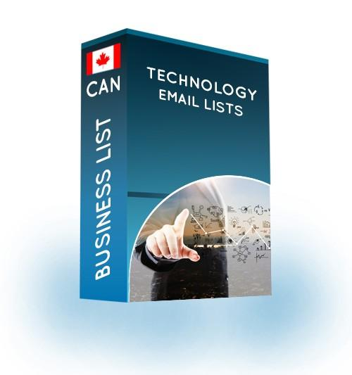 technology email list canada