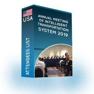Attendees List: Annual Meeting of Intelligent Transportation Systems 2019