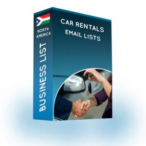 Car Rental Companies Email List