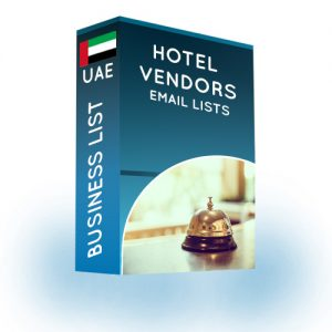 Hotel Vendors Email List