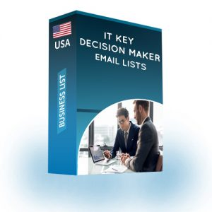 it key decision maker email list