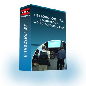 Attendees List: Meteorological Technology World Expo 2019