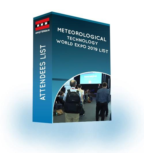 meteorological technology world expo email list