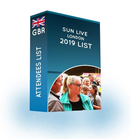 sun live london email list