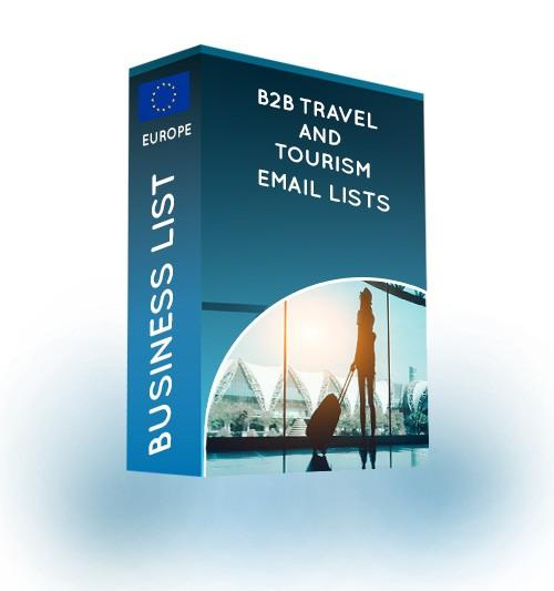 b2b travel and tourism email list