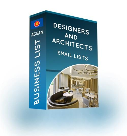designers and architects email list