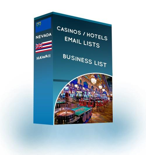 Casinos And Hotels Email List