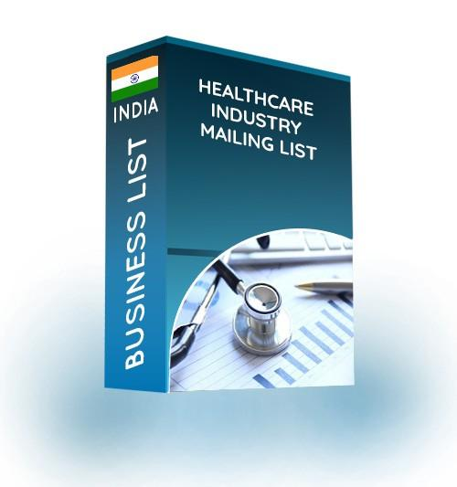 healthcare industry mailing list