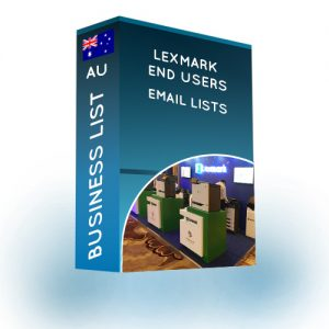 Lexmark End Users Email List