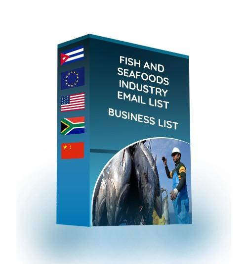 Fish and Seafood Industry Email List