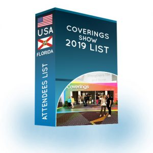 Attendees List: Coverings show 2019