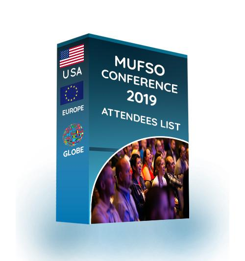 Attendee List: MUFSO Conference 2019