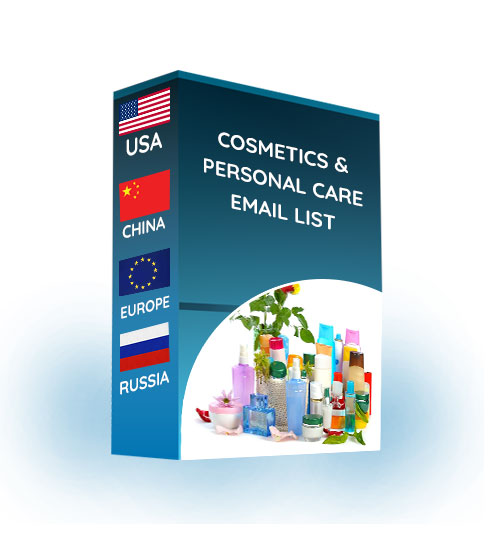 Cosmetic & Personal Care Email List