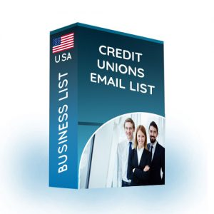 Credit Unions Email List USA