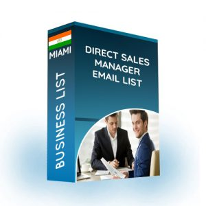 Direct Sales Manager Email List
